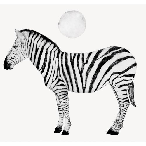 Beatrice Forshall - Zebra (Unframed)