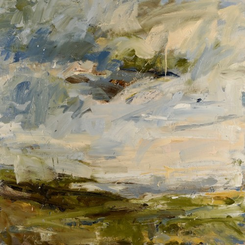 Louise Balaam - Ancient Fields, Cape Cornwall (London Gallery)