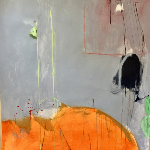 Felice Hodges - The Green Chair (London Gallery)