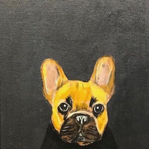 Robert James Clarke - Frenchie (Hungerford Gallery)