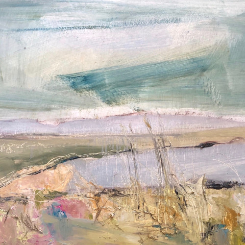 Jo Vollers - Aberfraw Beach (Hungerford Gallery)