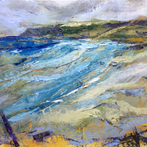 Emma Haggas - Wild Day on Constantine (Hungerford Gallery)
