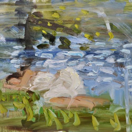Richard Colson - Sleeping by a Stream
