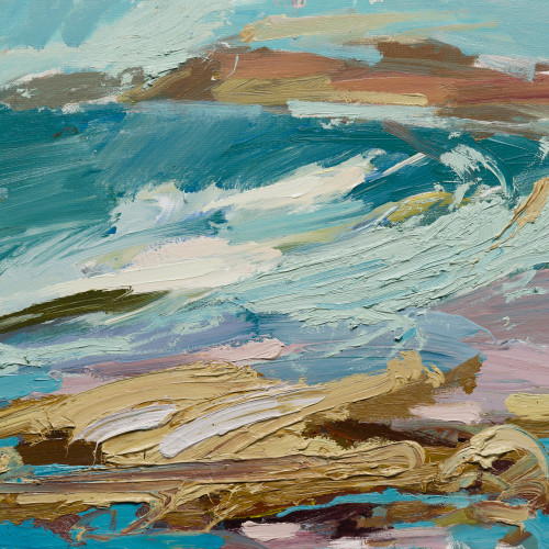 Paul Wadsworth - Coloured Sands (Hungerford Gallery)