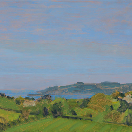 Celia Montague - Across to Mylor, Cornwall (Hungerford Gallery)