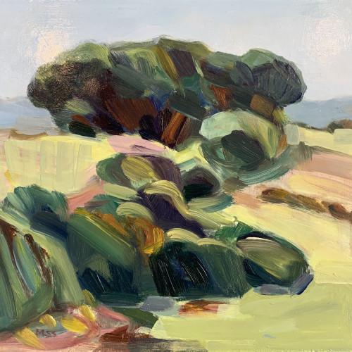 Minnie Shaw Stewart - Lambourn Downs I (Hungerford Gallery)