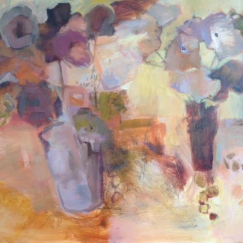 Margaret Devitt - Flowers in Autumn (Hungerford Gallery)
