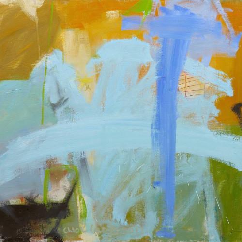 Chloë Lamb - Mustard and Blue