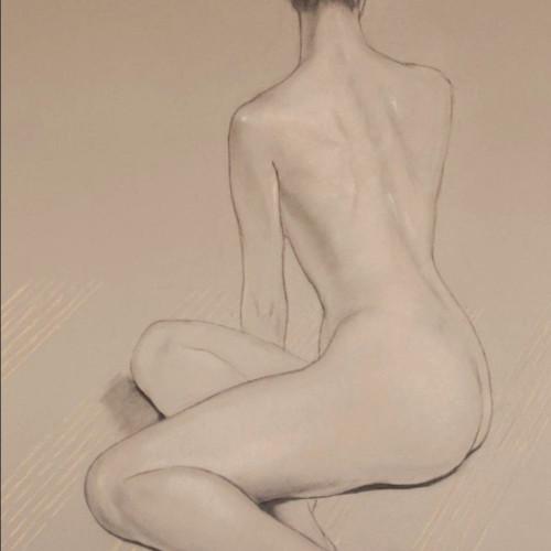 Katya Gridneva - Nude (Hungerford Gallery)