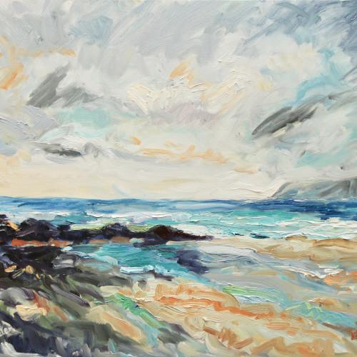 Fi Katzler - Storm Passing (Hungerford Gallery)