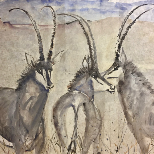 Christine Seifert - Oryx (Hungerford Gallery)