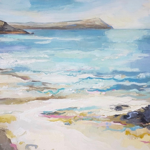 Kate Rhodes - Call of the Surf, Polzeath (Hungerford Gallery)