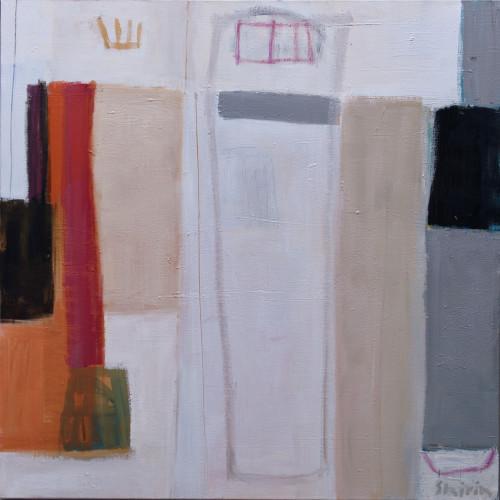 Shirin Tabeshfar Houston - Rooftops (London Gallery)