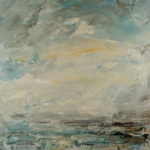 Louise Balaam - Norfolk Sky, Salt Air (London Gallery)