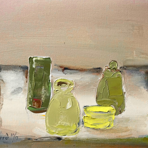 Val Pitchford - Just Four Pots (Hungerford Gallery)