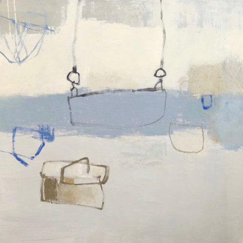 Jenny Lock - I Let my Mind Wander (London Gallery)