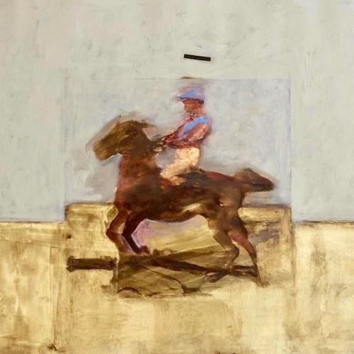 Antoine de La Boulaye - Jockey II (Hungerford Gallery)