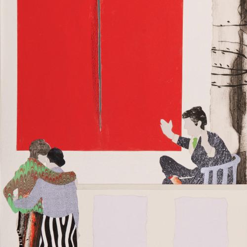 Dione Verulam - Dazzled by Fontana (London Gallery)