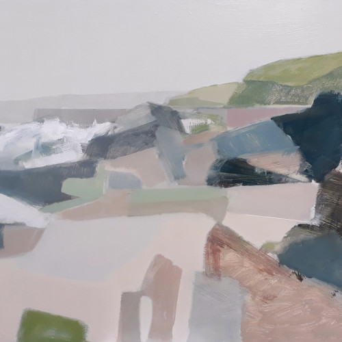 Myles Oxenford - Porthleven (Hungerford Gallery)