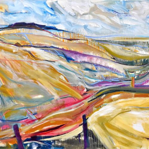 Emma Haggas - Looking to Hippenscombe Bottom (London Gallery)