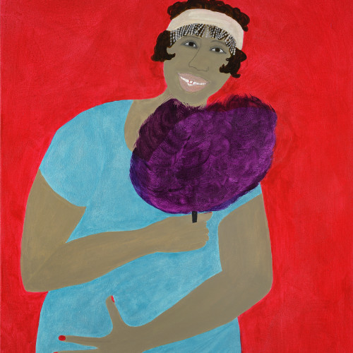 Kate Boxer - Ma Rainey (Hungerford Gallery)