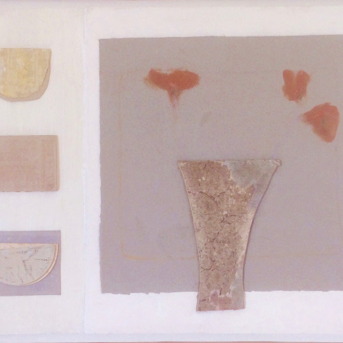 Colin Williams - Relief Painting with Vase (Hungerford Gallery)
