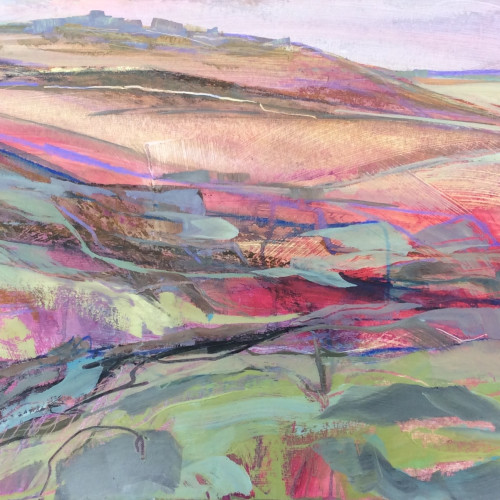 Emma Haggas - Rough Tor, Cornwall (Hungerford Gallery)