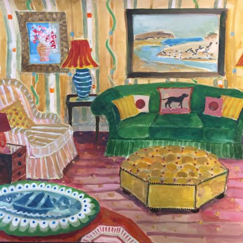 Lottie Cole - Interior with Winifred Nicholson