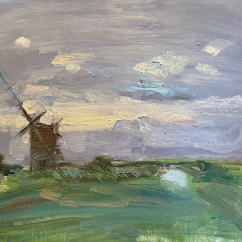 Richard Colson - Brograve Mill I (Hungerford Gallery)