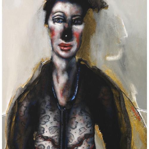 Chris Gollon, Woman with Curious Hairdo