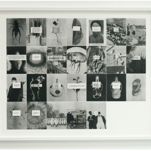 Herman Rahman  We Travelled in Moonlight, 2018  26 archive images: 125mm x 176mm each, printed on hahnemuehle photo rag  84.5 × 102.5 cm  Edition of 5 plus 1 artist's proof  Series: HAN