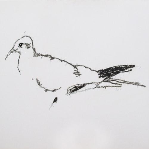 Ye Yongqing 葉永青, Painting a Bird, 2018