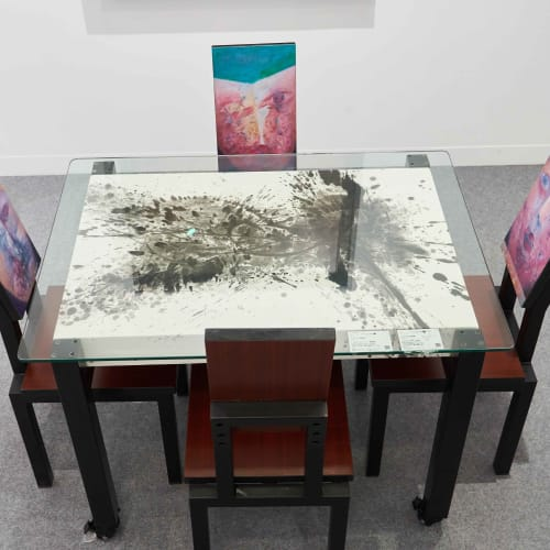 Alixe Fu 傅慶豊, A Table of Hybrid Portraits , 2018