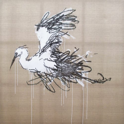 Ye Yongqing 葉永青, 怒飛 Flutter, 2018