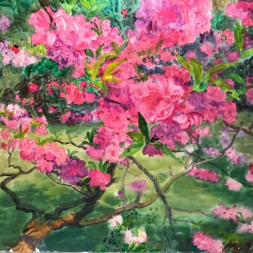 "<span class=""artist""><strong>Zhou Chunya</strong></span>, <span class=""title""><em>《凌云一笑》</em>, 2018</span>"