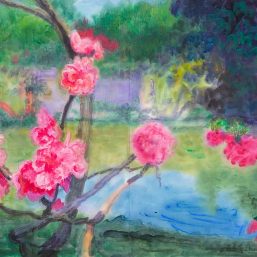 "<span class=""artist""><strong>Zhou Chunya</strong></span>, <span class=""title""><em>《揚州紅橋雅集》</em>, 2018</span>"