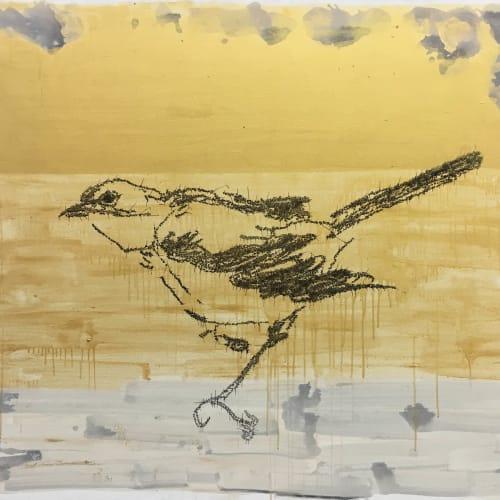Ye Yongqing 葉永青, Painting a Bird, 2016