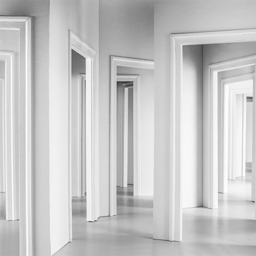 """Linet Sánchez, Untitled (door). From """"Untitled"""" series, 2018"""