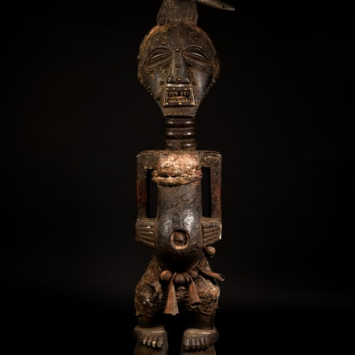 Songye Figure, 19th - 20th century  Wood  height 126 cm  height 49 5/8 in