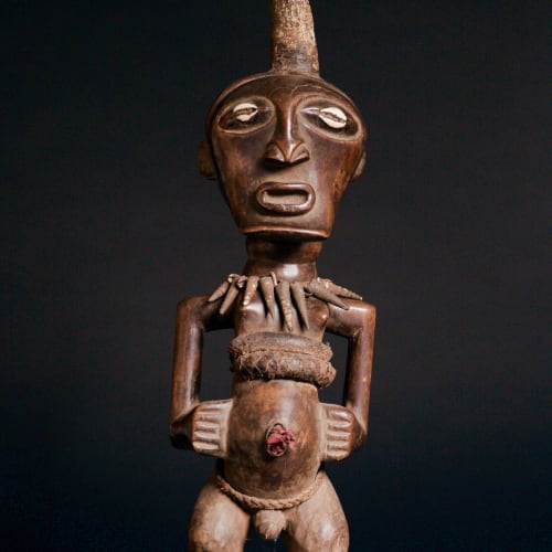 Songye Figure, 19th - 20th century  Wood  height 55 cm  height 21 5/8 in