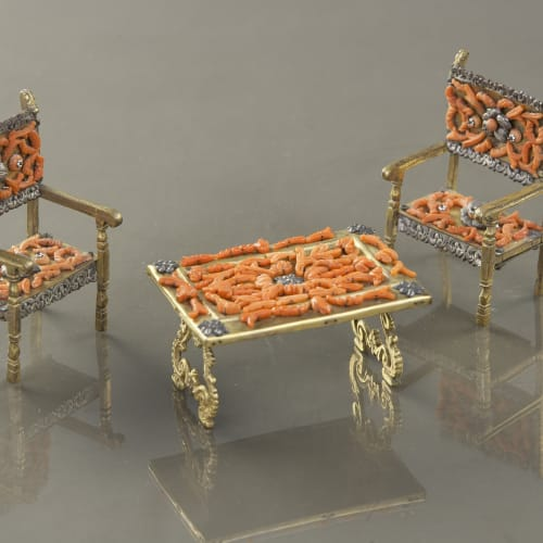 Trapani, Miniature furniture, 17th/18th century