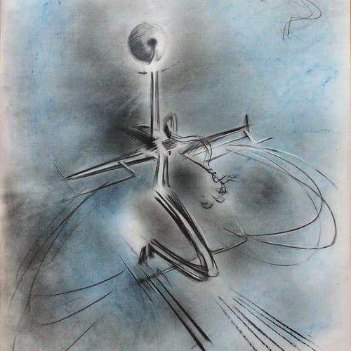"""Renzo Bergamo, Astral Trip, """"Viaggio astrale """", 1968"""