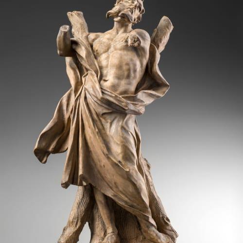 Ercole Ferrata, ST ANDREW THE APOSTLE, First Half of the 17th Century