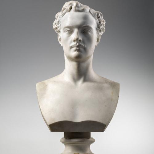 Luigi Maioli, MALE BUST (LUIGI GHINASSI?), Rome, 1869