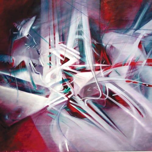 """Renzo Bergamo, Where the moth rests, """"Dove la falena si riposa"""", 2004"""