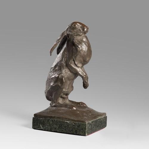 Sirio Tofanari, Bronze sculpture of a hare