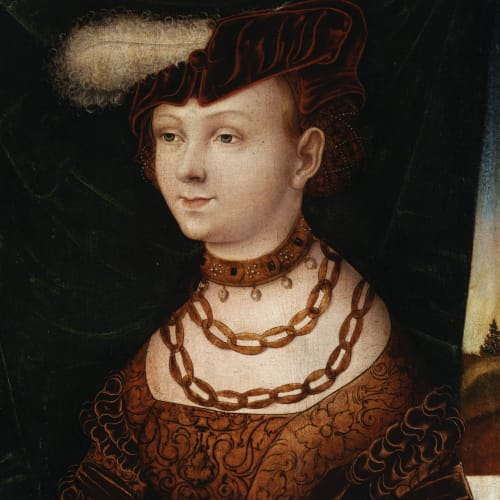 The Monogrammist I. W. Follower of Cranach, Salomè, 1525 circa