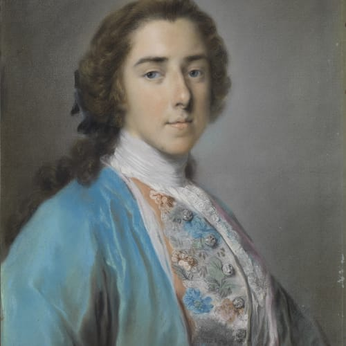 Rosalba Carriera, Portrait of Lord Henry Fiennes Clinton Pelham-Clinton, circa 1741