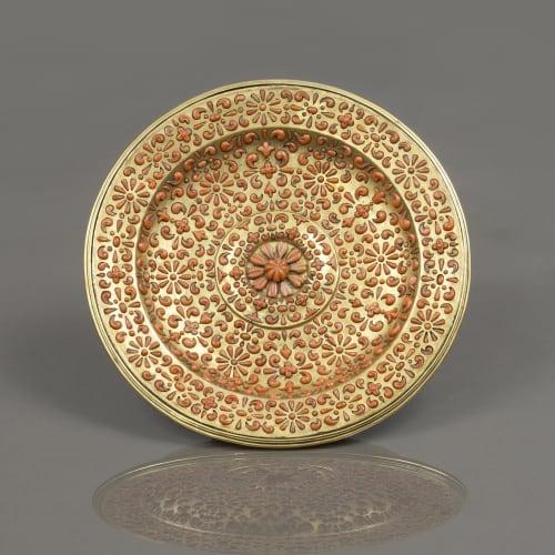 Trapani, Circular Tray, First Half of the 17th Century