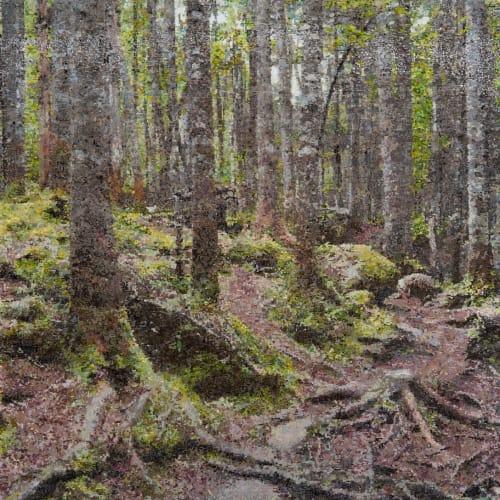 Kirstin Lamb, Woods Painting, 2020